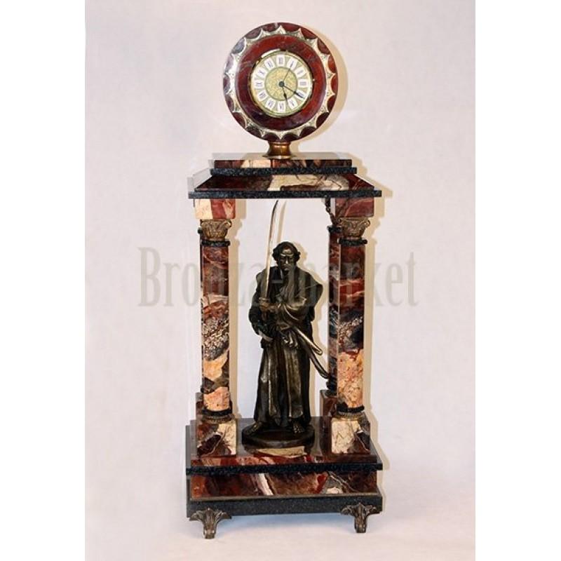 Каминные часы Самурай