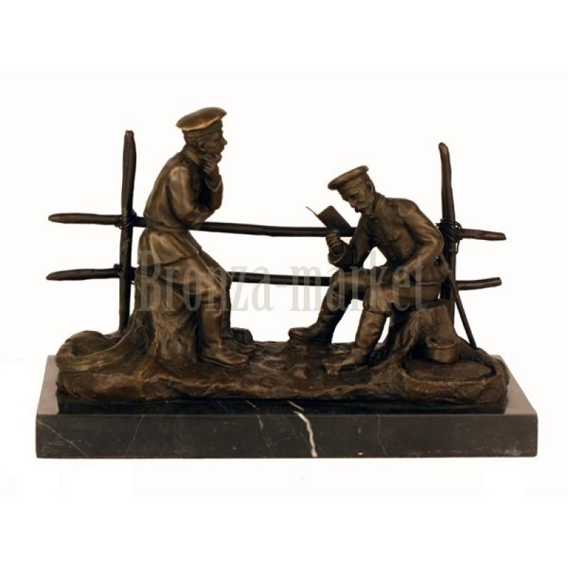 Скульптура Письмо из дома