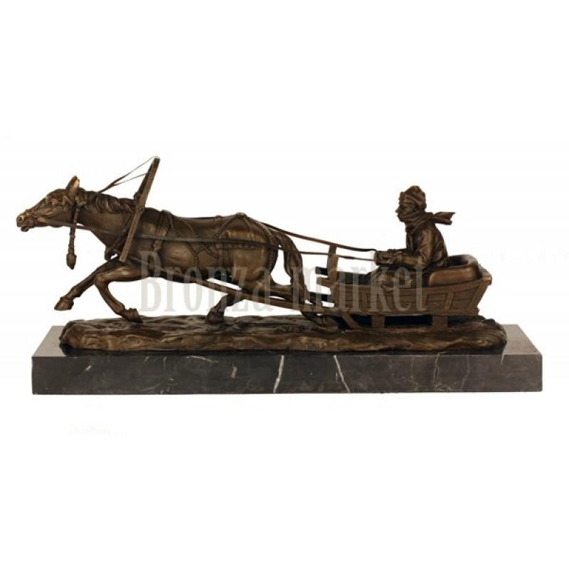 Скульптура Сельский почтальон