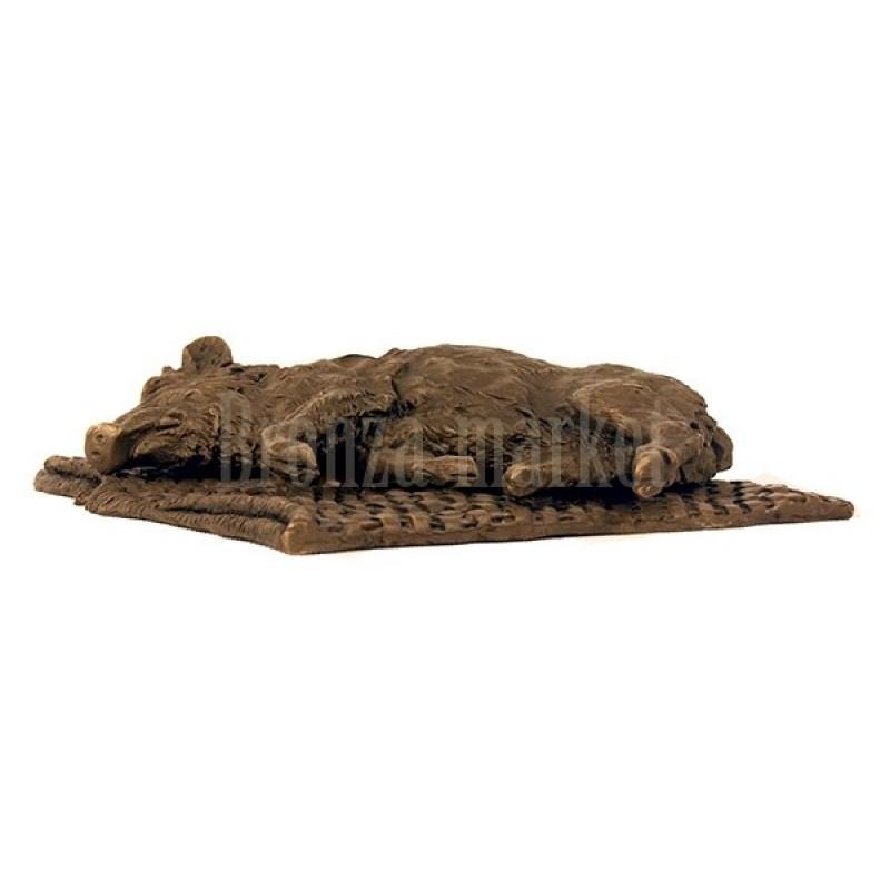 Кабан на рогоже (Охотничий трофей)