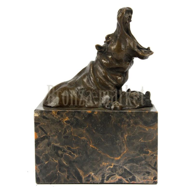 Скульптура Бегемот с бегемотихой