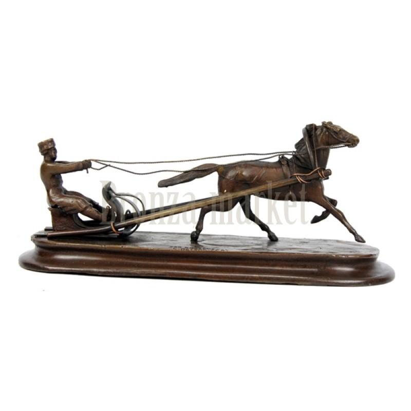 Скульптура Русские сани