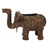 """Статуэтка """"Индийский слон (ваза)"""""""