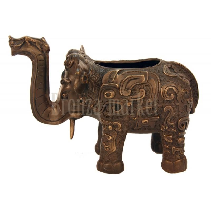 Статуэтка Индийский слон (ваза)
