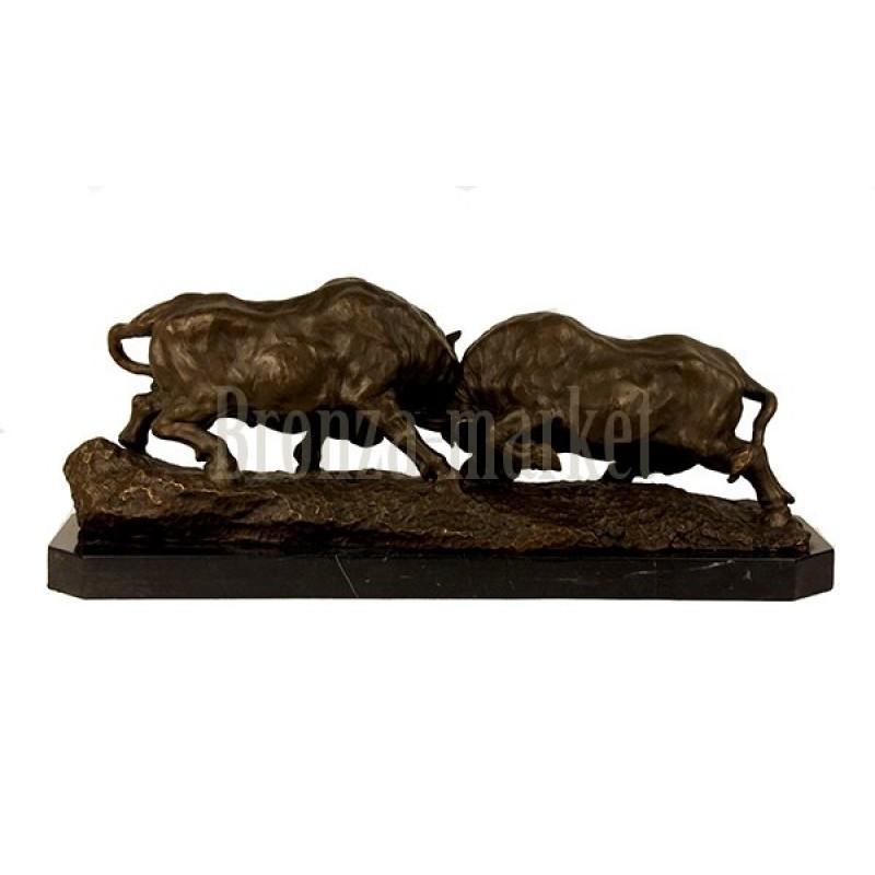 Скульптура Бой быков (крупная...)
