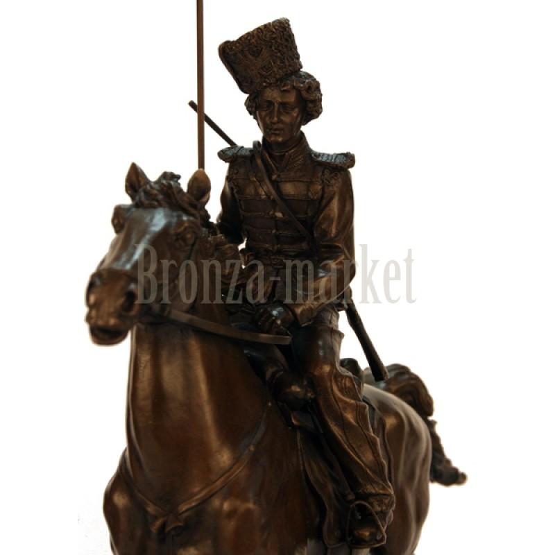 Скульптура Гвардейский донской казак