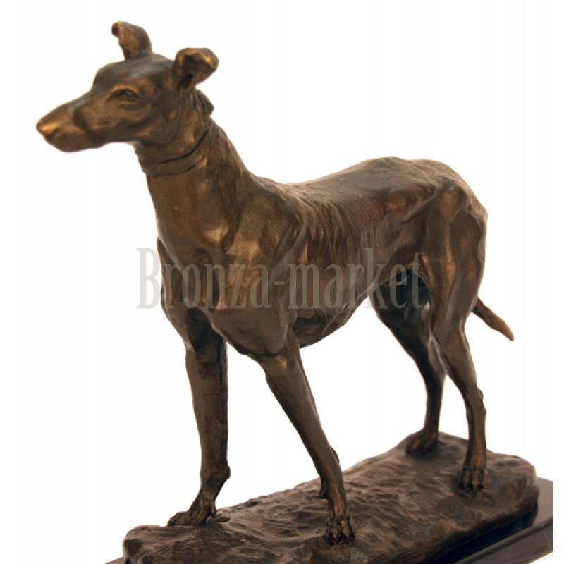 Скульптура Английская борзая